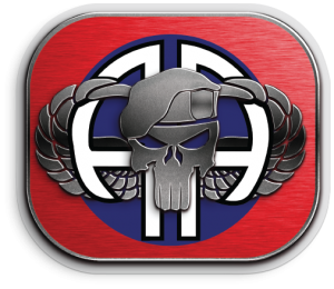 82nd Punisher sticker