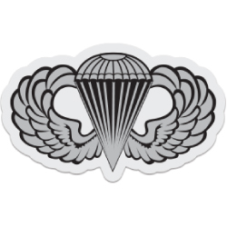Airborne Jump Wings Decal