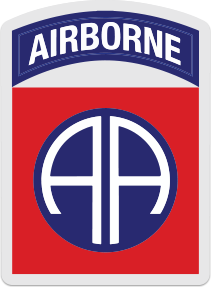82nd Airborne Logo Sticker