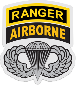 airborne ranger wings sticker