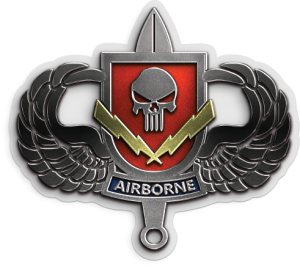 airborne shield decal