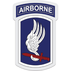 173rd Airborne Patch Decal