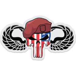 Airborne Punisher Decal