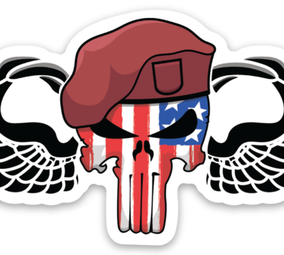 Punisher Wings Magnet